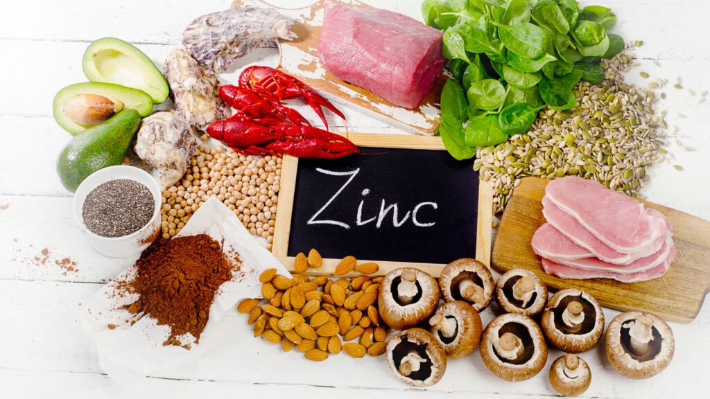 Zinc vitamin supplement