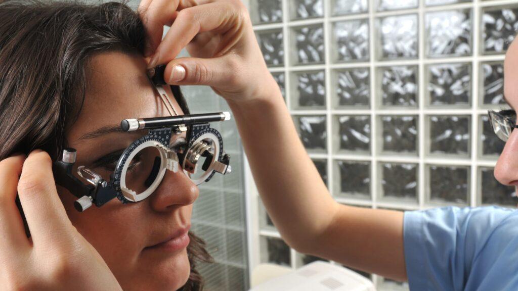 Comprehensive eye eam