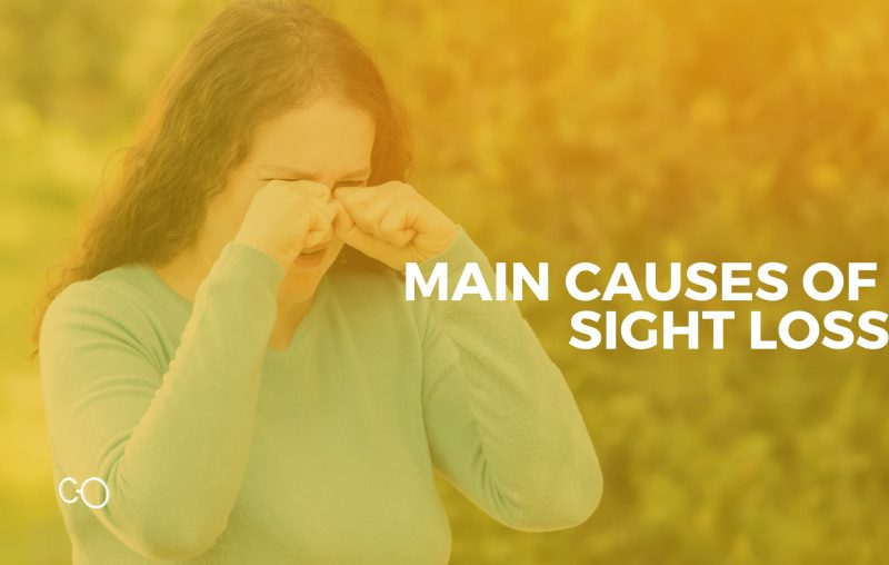 Causes of sight loss
